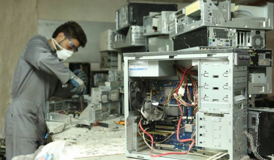 The dangers of e-waste disposal in Lebanon