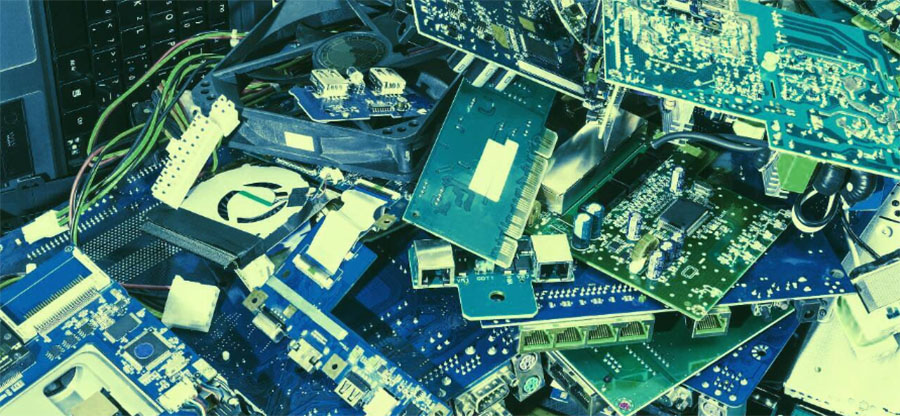 How blockchain is tackling a mountain of electronic waste