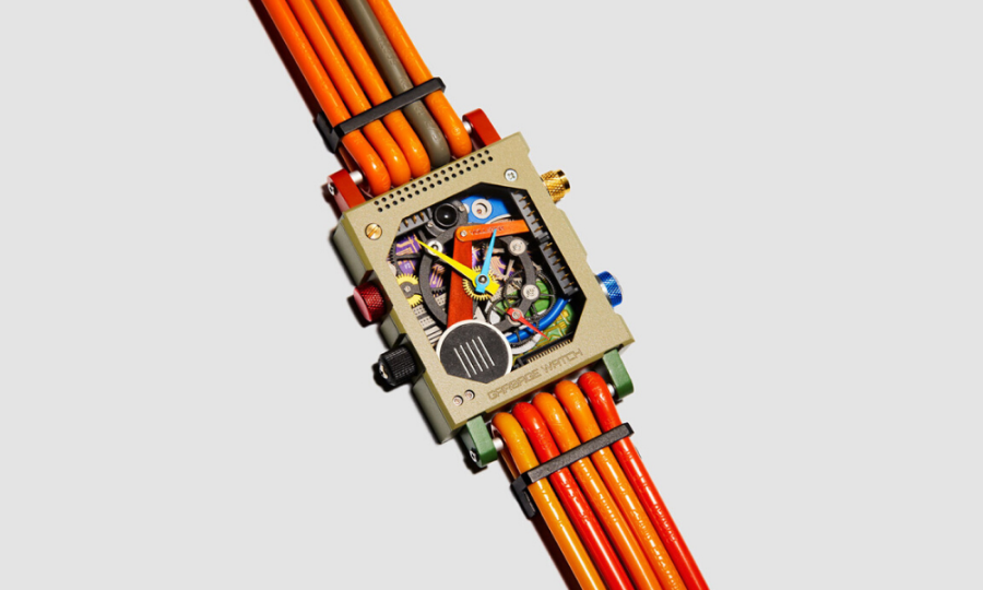 'Garbage Watch' unveiled – and it's made completely out of e-waste