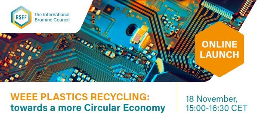 Sofies study launched during BSEF webinar – WEEE plastics recycling: towards a more circular economy