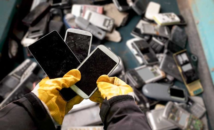 Total volume of e-waste on the decline in the USA, suggest the results of a recent Yale study